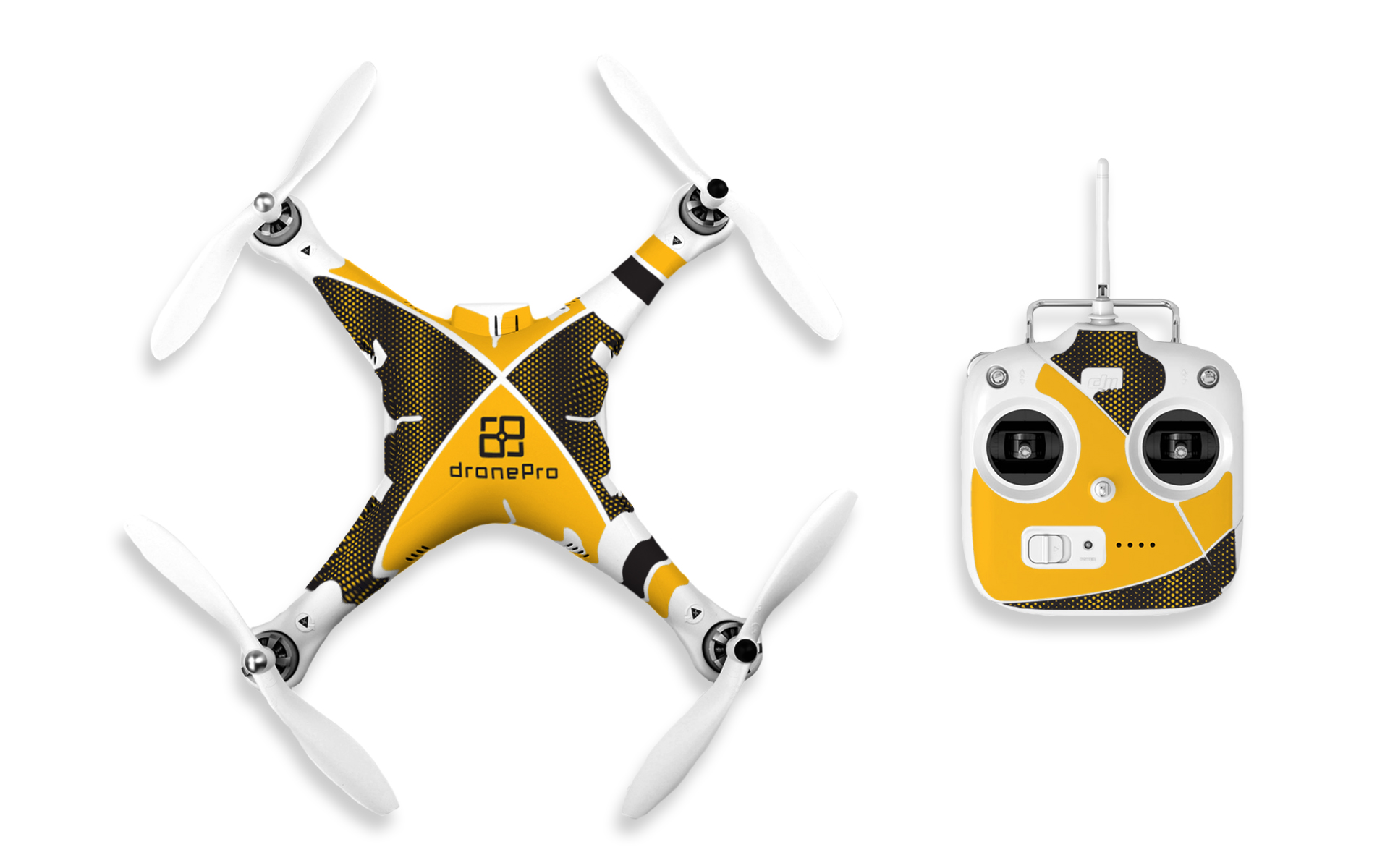 drone pro stickers