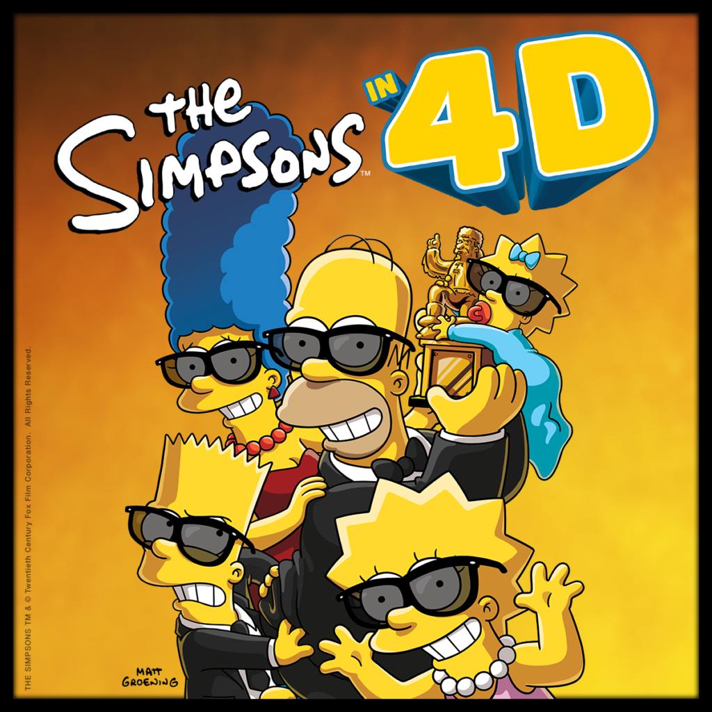 the simpsons in 4d