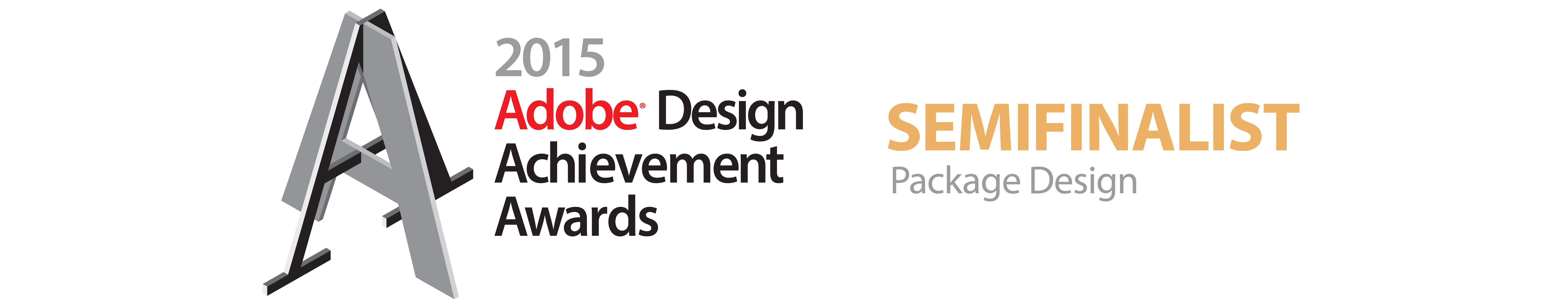 2015 adobe design achievement awards semifinalist packaging design banner