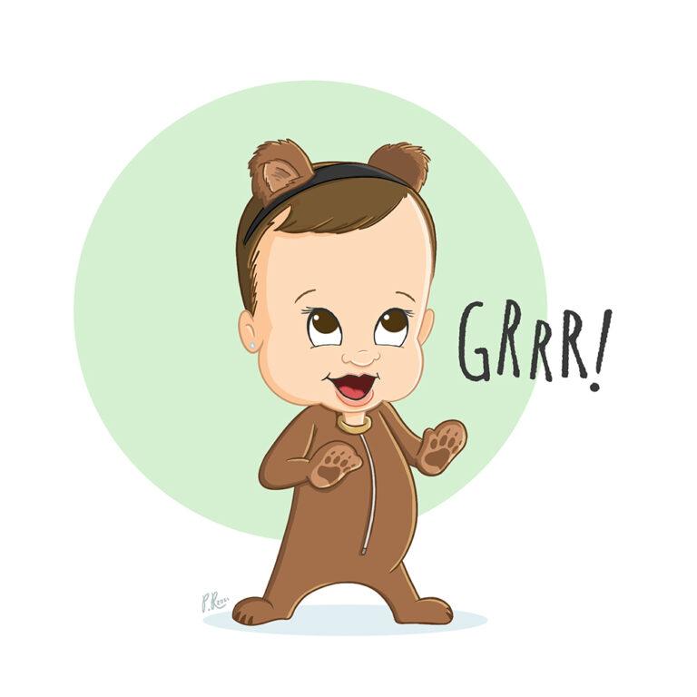 charley bear cartoon