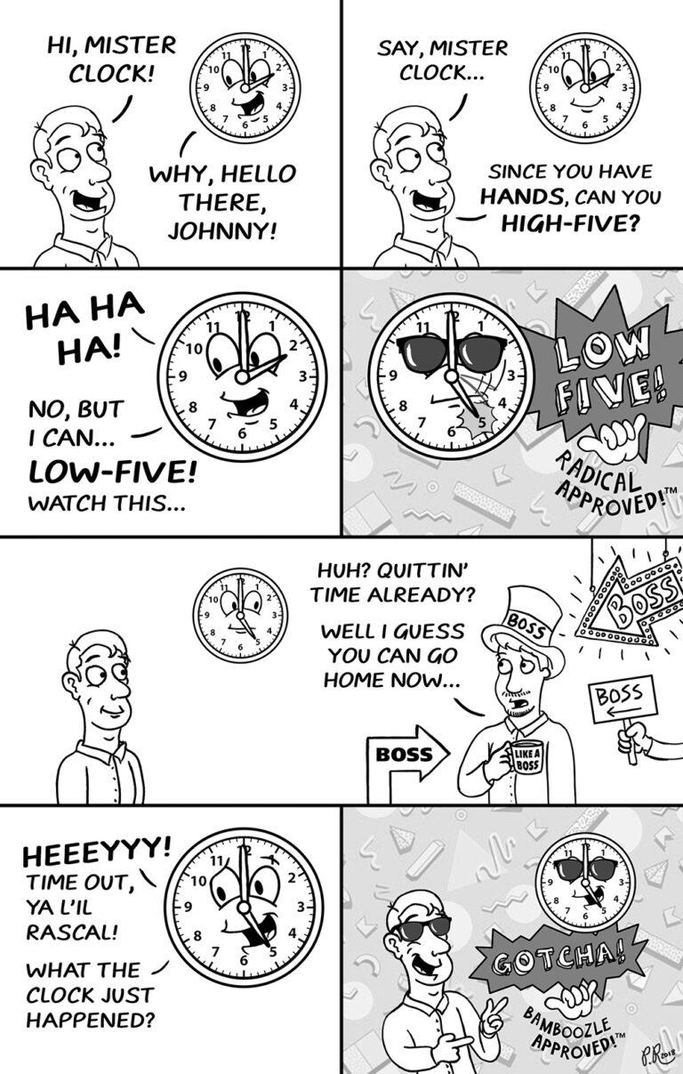 low five comic