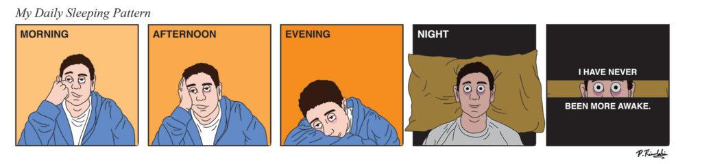 sleeping pattern comic