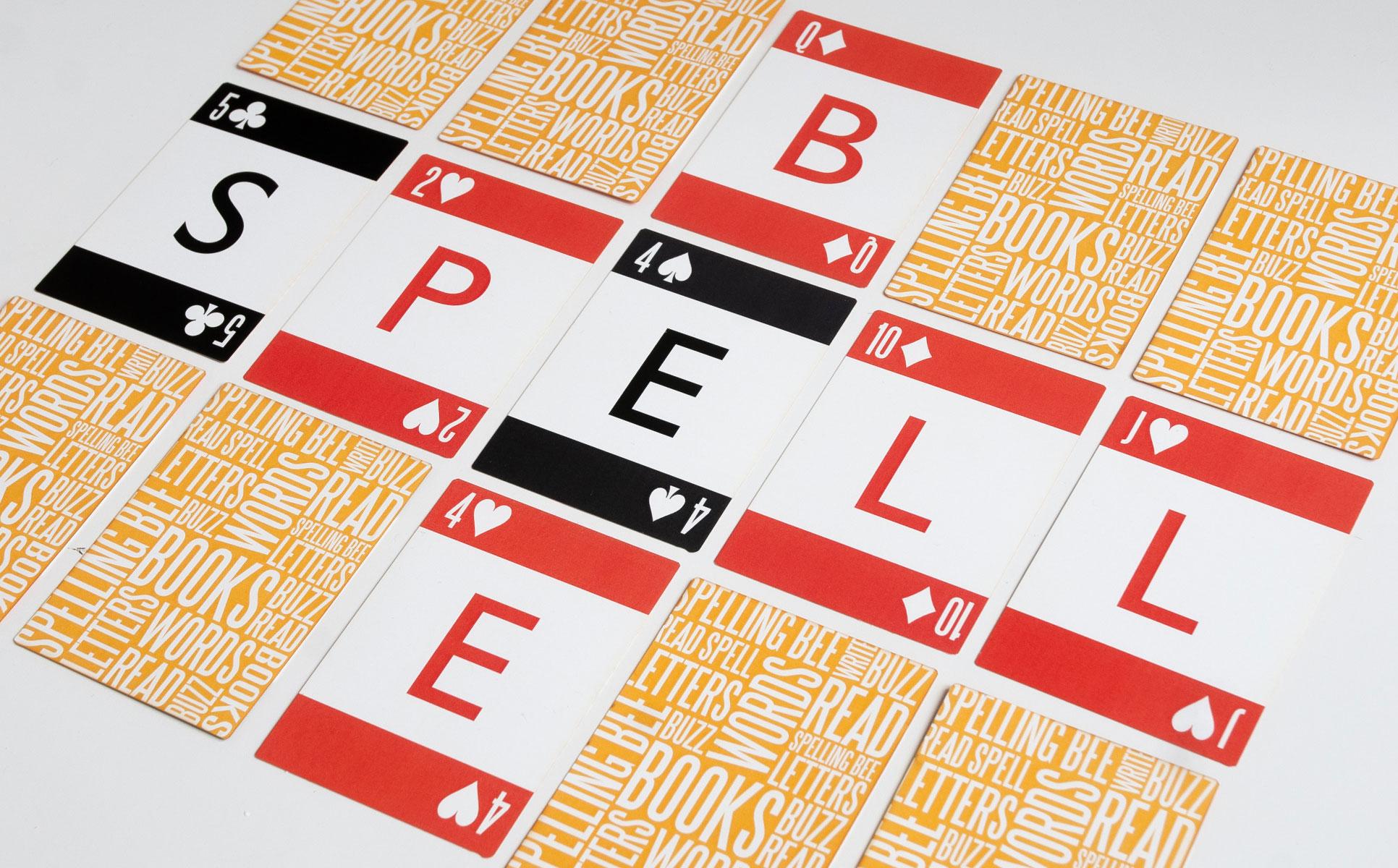 spelling bee cards
