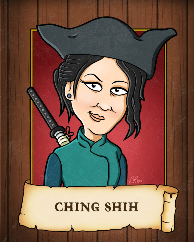 ching shih cartoon